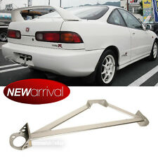 Fit Civic Integra Stainless 3 Point Chrome Front Upper Strut Tower Brace Bar