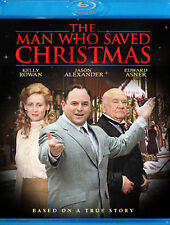 THE MAN WHO SAVED CHRISTMAS BLU-RAY DVD Jason Alexander, Jayne Eastwood NEW