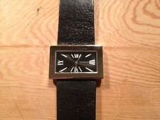 Nuevo - Reloj Watch Montre REBECCA de Sra. de acero esfera negra - Quartz - New