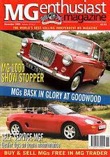MG Enthusiast Magazine November 1999 (25.2) ... Importing MGs From the USA