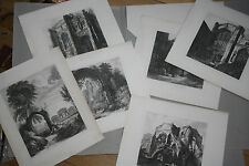 6  Etchings The Abbey Gate, City of Chester +others Artist Cuitt, George  1810