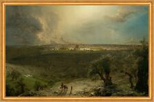 Gerusalemme from the Mount of Olives Frederic Edwin Church Israele città B a2 01913