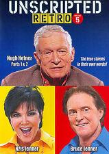 Unscripted Retro: Volume 5 (DVD) Bruce Jenner, Hugh Hefner, Kris Jenner ~NEW~