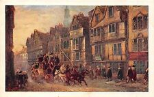 POSTCARD   SOCIAL  HISTORY  COACHING  LONDON  Wych St  STRAND          Maggs