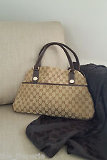 *GUCCI* GG CANVAS CHARMY SHOULDER BAG