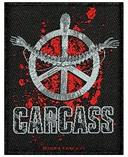 Carcass Heartwork Album Logo Death Metal Music Band Woven Sew On Applique Patch
