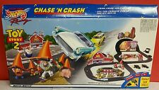 Toy Story 2 Mattel Chase 'N Crash TYCO Electronic Slot Car Race Track NIB