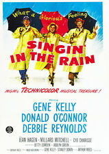 Singing in the Rain A4 260GSM Poster Print