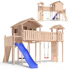 PONTICULUS playtower climbing frame slide swing treehouse Playground