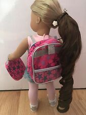American Girl Doll Backpack And Lunchbox