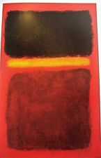 Mark Rothko Poster of Untitled 1956 Painting 14x11 Unsigned  Offset Lithograph