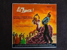 """Carmen Dragon & The Hollywood Bowl """"La Danza"""" 1959 LP - Capital P8314 Mono"""
