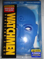 WATCHMEN DIRECTOR CUT LIMITED EDITION DR. MANHATTAN CASE BLU RAY FACTORY SEALED