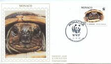 FDC / PREMIER JOUR / MONACO / FAUNE / LA TORTUE D'HERMANN 1991