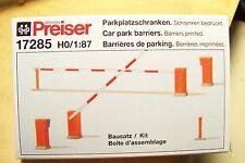 HO Preiser 17285 PARKING LOT / CAR PARK BARRIER Model Detail KIT