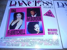 "DANCE 88 MINT DANISH 12"" 1988 MEGA RECORDS;SABRINA,CUE,CELINE DION RED WAX RARE*"