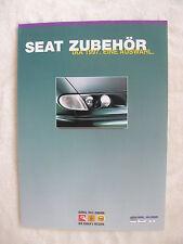 Seat Zubehör - IAA 1997 -  Prospekt sheet 09.1997