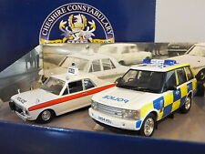 CORGI VANGUARDS CHESHIRE CONSTABULARY 150 YEARS POLICE CAR MODEL SET CP2002 1:43