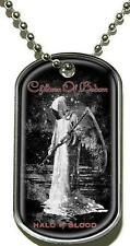 "CHILDREN OF BODOM DOG TAG ""HALO OF BLOOD"" - NECKLACE - HUNDEMARKE - HALSKETTE"