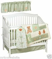 Lambs And Ivy Dream Teddy Baby 6 Piece Bedding Set