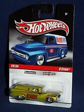 Hot Wheels 2010 Slick Rides Delivery #29 8 Crate Satin Antifreeze w/ TRW