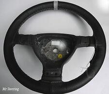 Accoppiamenti MERCEDES B classe W245 perforato in Pelle + cinturino grigio Steering wheel cover