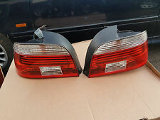 OEM BMW E39 TAIL LIGHTS OEM HELLA LED CELLIS EURO CLEAR INDICATOR + Plugs M5 535