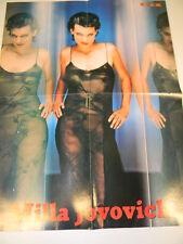 Q61 Poster Milla Jovovich   retro Il Gladiatore