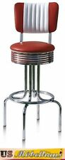 BS-28-CB Ruby Bel Air Barhocker Diner Theke Bar Stuhl Fifties Amerika Style USA