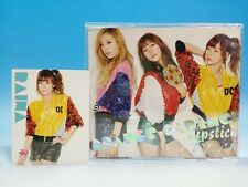 CD+DVD+Raina Photo Card Orange Caramel Japan LIPSTICK Ram's Love Song Balaety ED