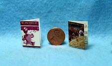Dollhouse Miniature Christmas Music Sheets with Print~ Little Drummer Boy & More