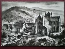 POSTCARD MONMOUTHSHIRE TINTERN ABBEY AS IT MAY HAVE BEEN BEFORE THE DISSOLUTION