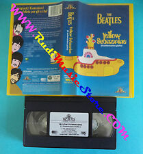 VHS THE BEATLES Yellow submarine 1999 MGM PIV 56160 LENNON (VM3*) no mc dvd lp
