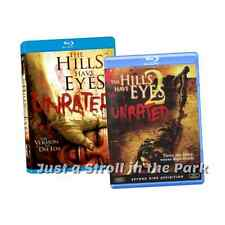 The Hills Have Eyes 1 & 2 Unrated Wes Craven Horror Film BluRay Collection NEW!