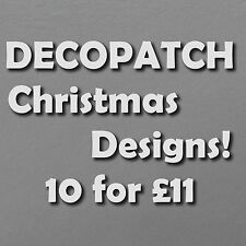 10 Different Decopatch Christmas Paper Designs! 10 for £11 FREE 1st Class P&P!
