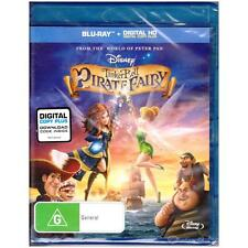 BLU-RAY TINKER BELL & THE PIRATE FAIRY Disney TinkerBell ALL REGIONS A-B-C [BNS]