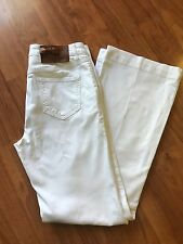 Red Valentino Women's White Demin Flare Jeans~ Size 29