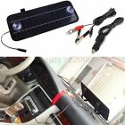 12V 5W Portable Car Boat Power Solar Panel Battery Backup Charger Automobile NEW
