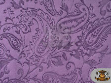 """Minky Cuddle Embossed Paisley 18 Violet / 58"""" Wide / Sold by the yard"""