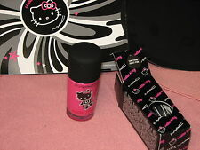 "MAC Hello Kitty Nail Lacquer ""SOMETHING ABOUT PINK"" LE, NIB"