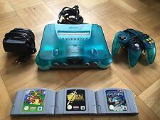 Nintendo 64 in Ice Blue con 3 giochi