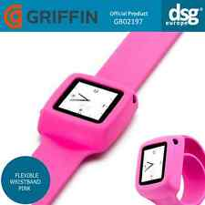 GENUINE GRIFFIN SLAP iPod NANO (6th GENERATION) FLEXIBLE WRISTBAND PINK