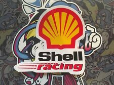 Shell Racing Long Classic Logo Sticker Decal Graphic Tall