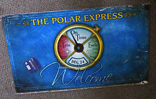 LIONEL THE POLAR EXPRESS CONDUCTORS WATCH DOOR MAT entrance rug 9-33091 NEW