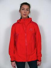 ARC'TERYX LADIES GORE-TEX WATER PROOF JACKET PRO SHELL MOUNTAINEERING RED COAT~L