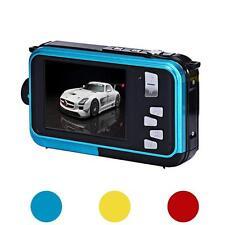 Lusso Doppio Schermo TF Card Fotocamera 24MP 16x Zoom Digitale Sport