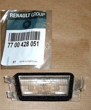 RENAULT MEGANE I SCENIC I NUMBER PLATE LAMP LIGHT GENUINE NEW 7700428051
