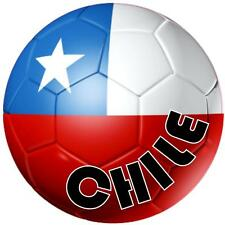 decal sticker worldcup car bumper flag team soccer ball foot football chile