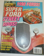 Super Ford Magazine Street Ford Powered Rods October 1989 122314R2