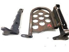 Yamaha Foot Rest Set W/ Plate Bear Tracker 01-04 4XE-F7411-00-00